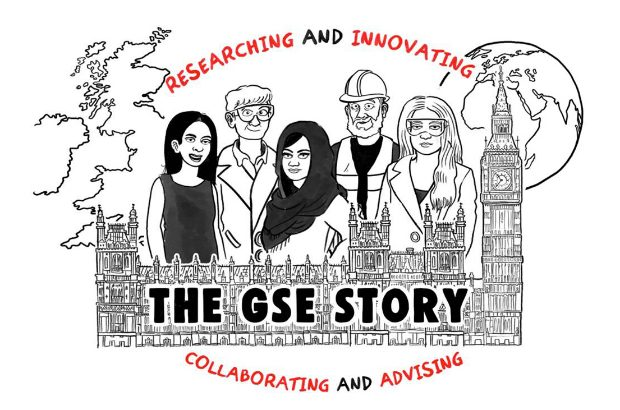 Female and male scientists, researching and innovating, collaborating and partnering.