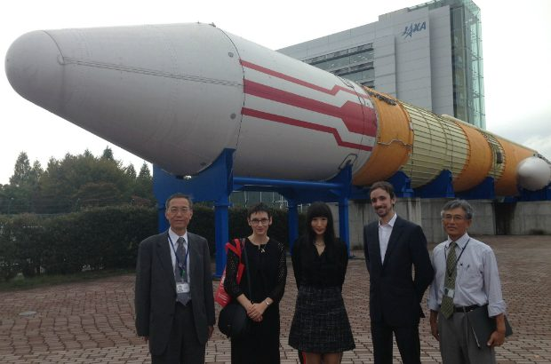 Visiting the Japanese space agency in Tsukuba (That's me on the 2nd Left!)