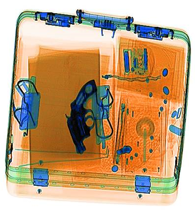 Security scan of luggage