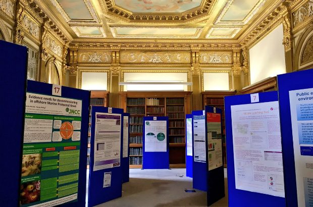 Poster exhibition at Defra conference