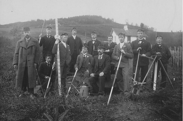 Land Surveying (1890s)