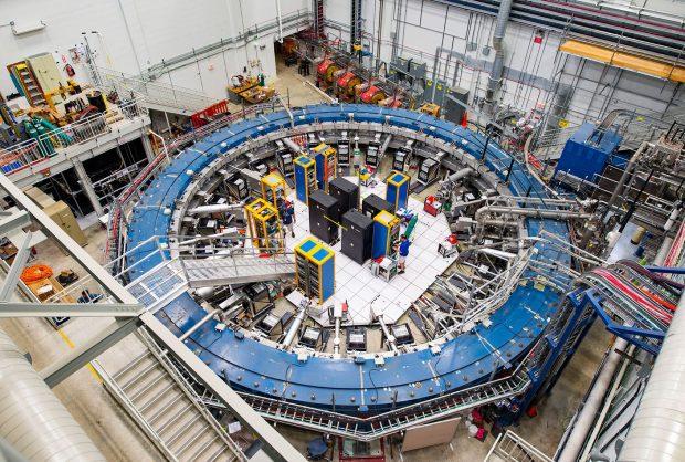 Fermilab muon g-2 ring