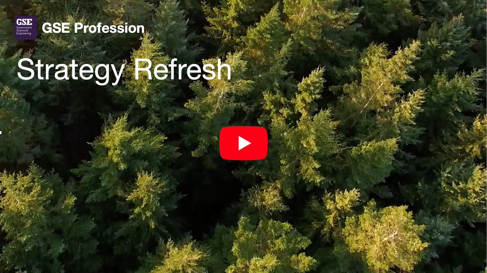 Strategy Refresh Launch Advert